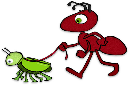 Free Ant Clipart - Black Ants - Red Ants