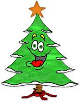 Animated Christmas Trees - Christmas Tree Clip Art