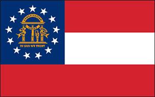 Free Animated Georgia Flag Gifs Georgia Flag Clip Art