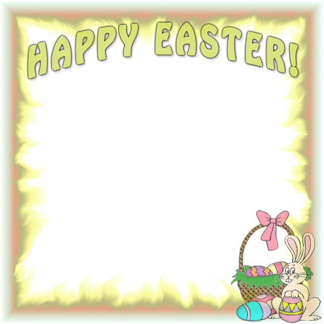 free happy easter borders border clipart